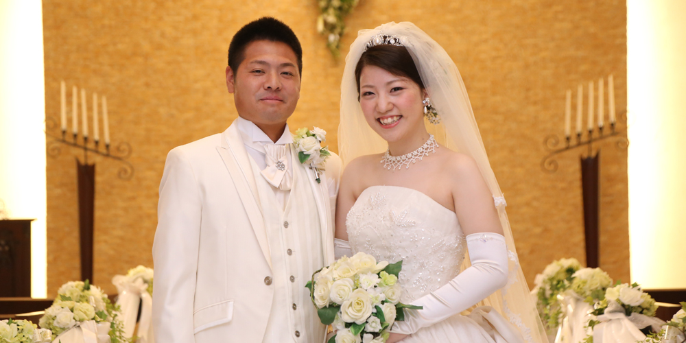 2018年4月21日(土)挙式 Hidetoshi & Mizuki